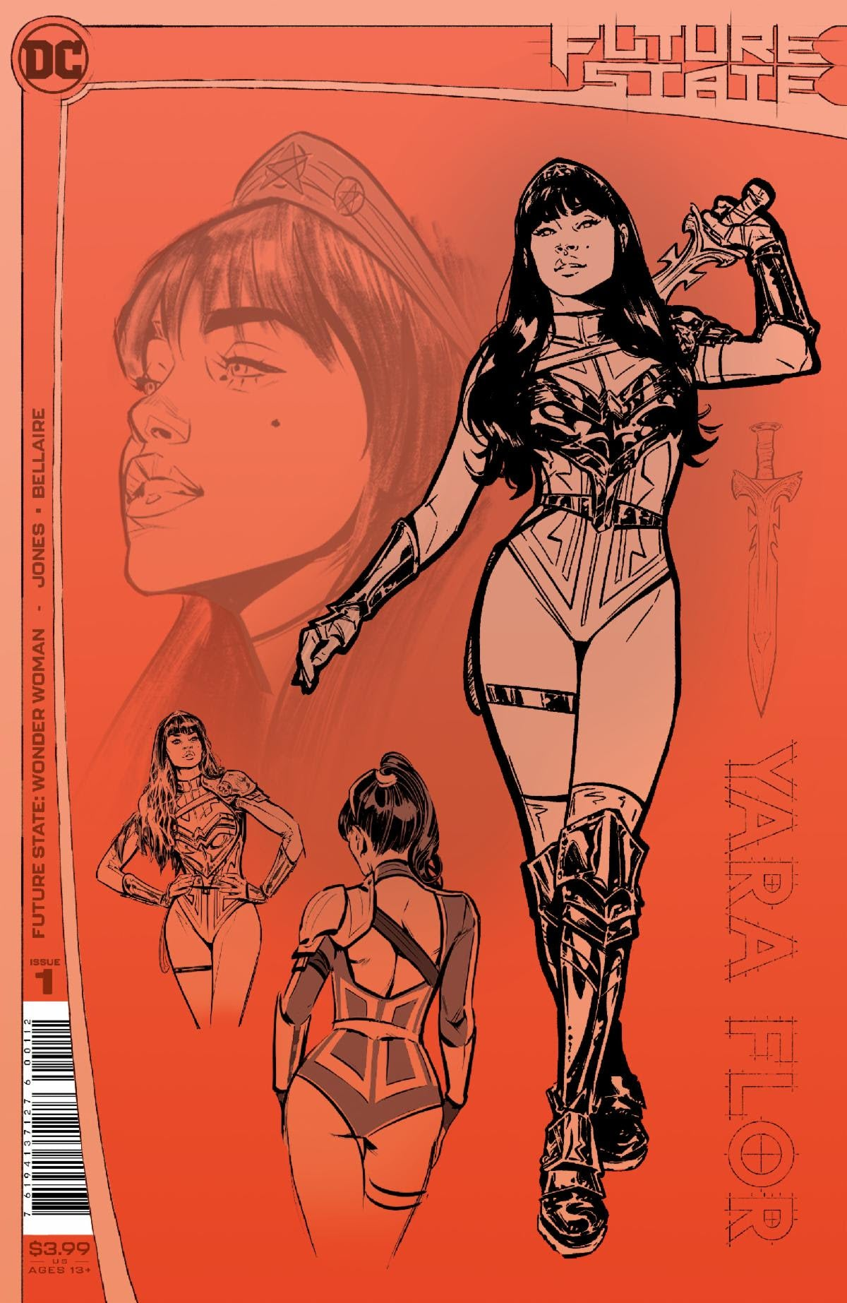 02/03/2021 FUTURE STATE WONDER WOMAN #1 (OF 2) 2ND PRINT VARIANT