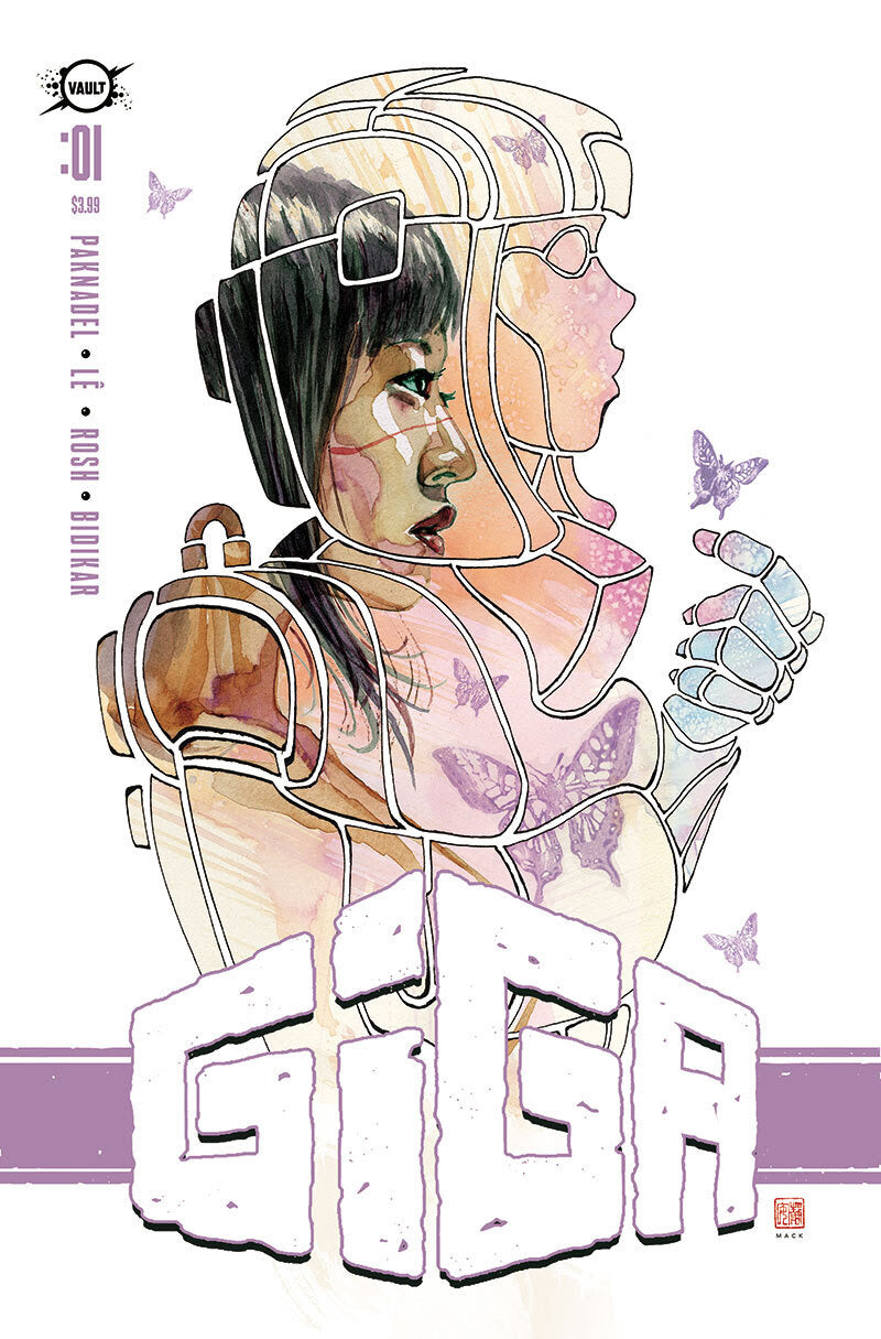 10/21/2020 GIGA #1 DAVID MACK 1:30 FOIL VARIANT (NEW RELEASE 10/28/2020)