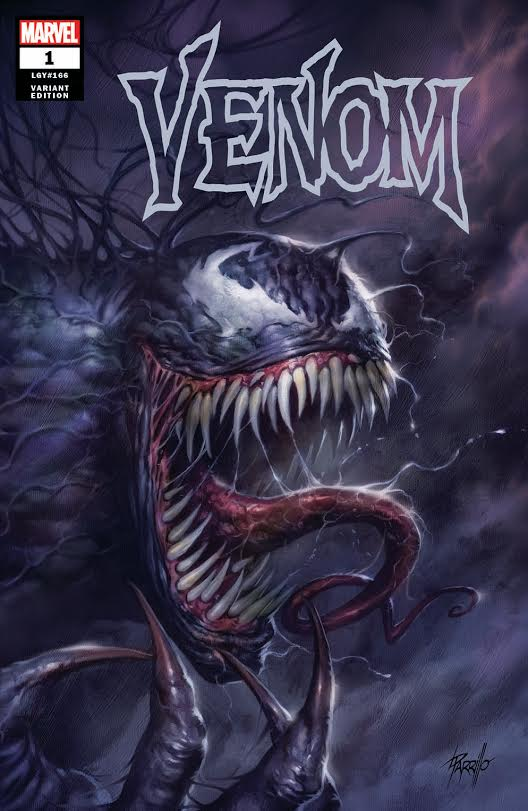 05/09/2018 VENOM #1 LUCIO PARRILLO SSCO EXCLUSIVE VARIANT TRADE DRESS