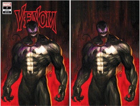 VENOM #7 KRS Exclusive Mike Choi Trade Dress & Virgin Variant Set w/COA 2018