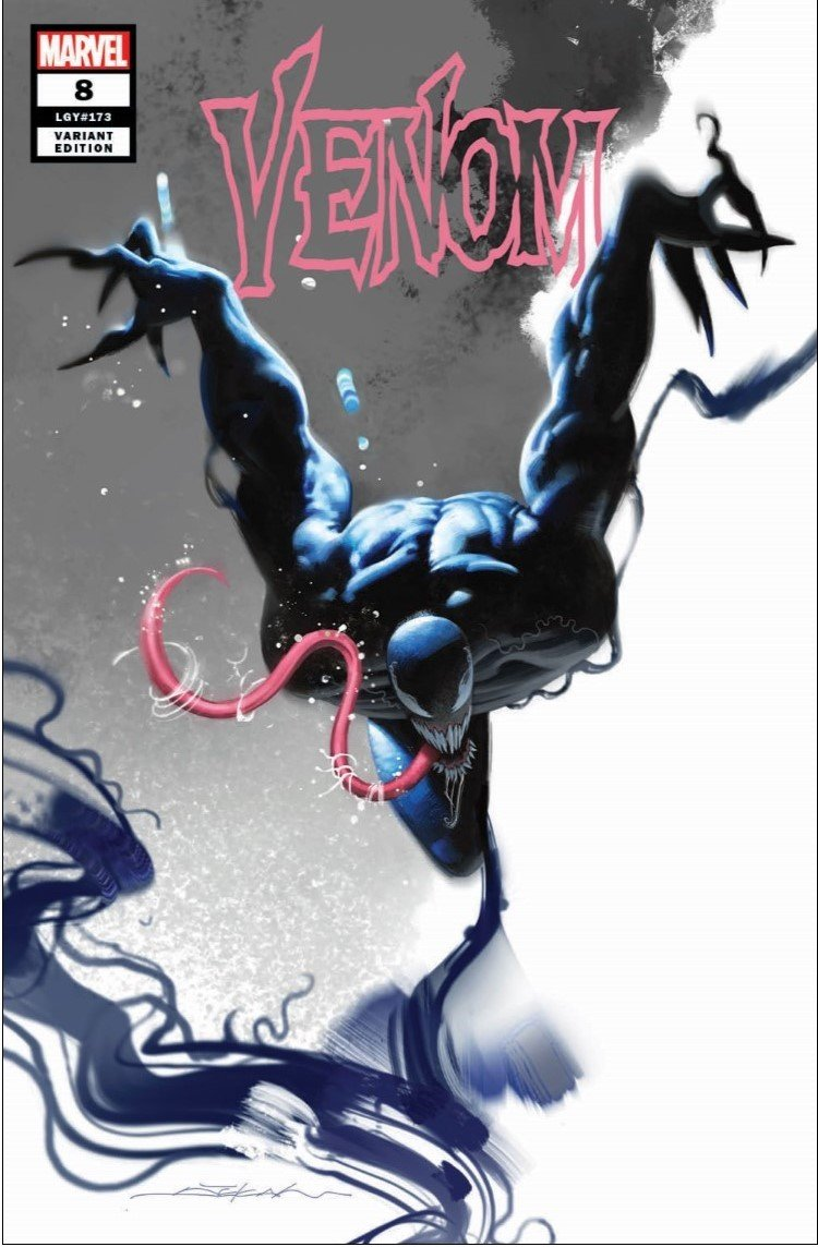 VENOM #8 DEKAL Trade Dress Variant w/COA 2018
