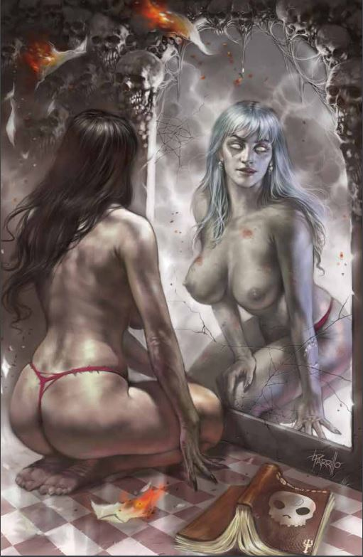 2019 ZOMBIE TRAMP ONGOING #57 SSCO PARRILLO RISQUE VIRGIN CONVENTION EXCLUSIVE VARIANT (NOT NEAR MINT)