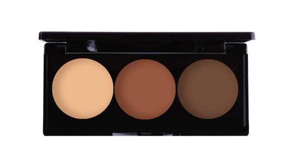 3 WELL CONTOUR PALETTE | Cream