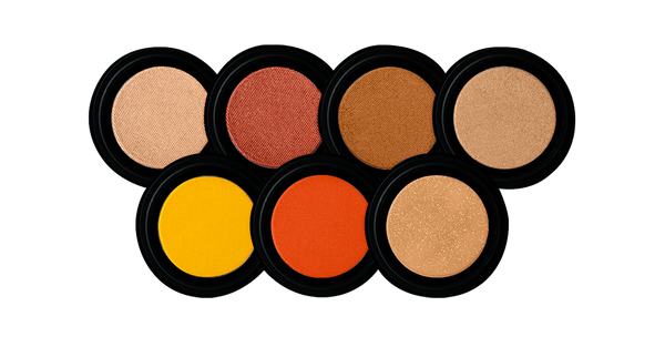 EYESHADOW Triple Milled Eyeshadow | Coppers, Peaches & Golds