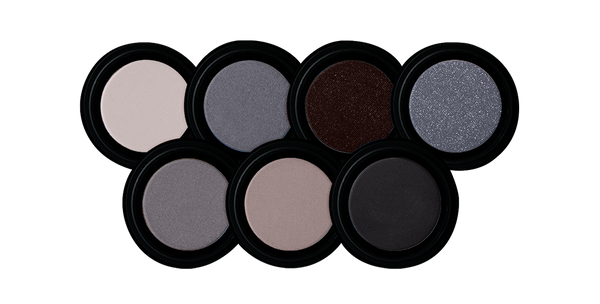 EYESHADOW Triple Milled Eyeshadow | Greys, Charcoals & Blacks