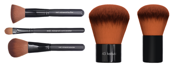 BRUSHES Mineral | Vegan Brushes