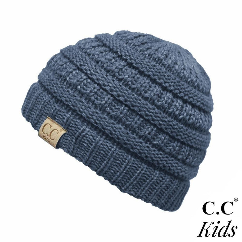KIDS CC Beanie - Denim