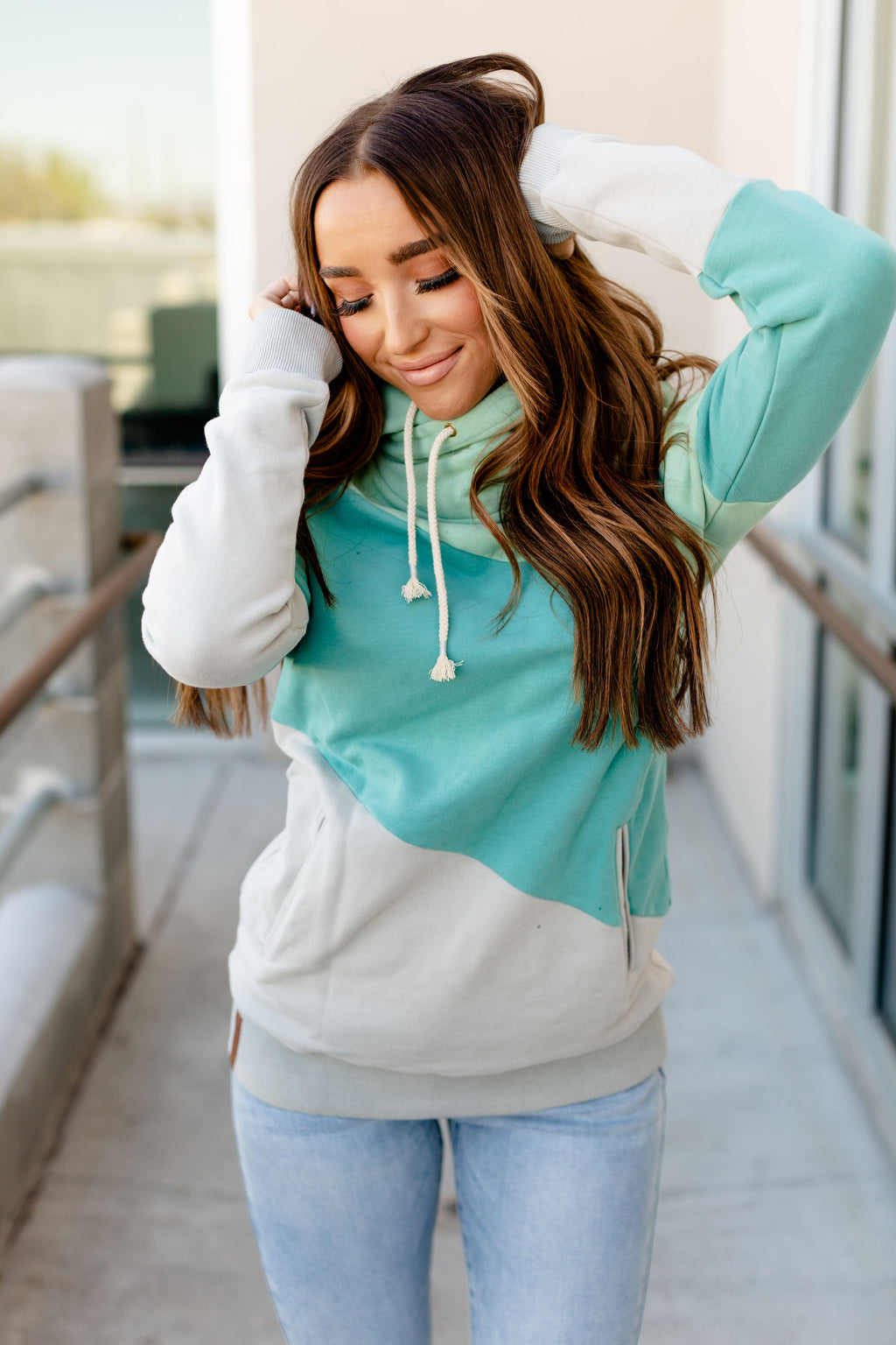 Singlehood Sweatshirt | Sea Glass
