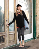 Grace & Lace Athleisure Pocket Legging - Charcoal