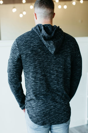 *NEW* MENS Ampersand Hustle Hoodie - Heathered Black