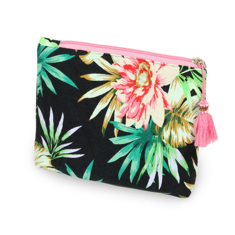 *FINAL SALE* Floral Travel Pouch