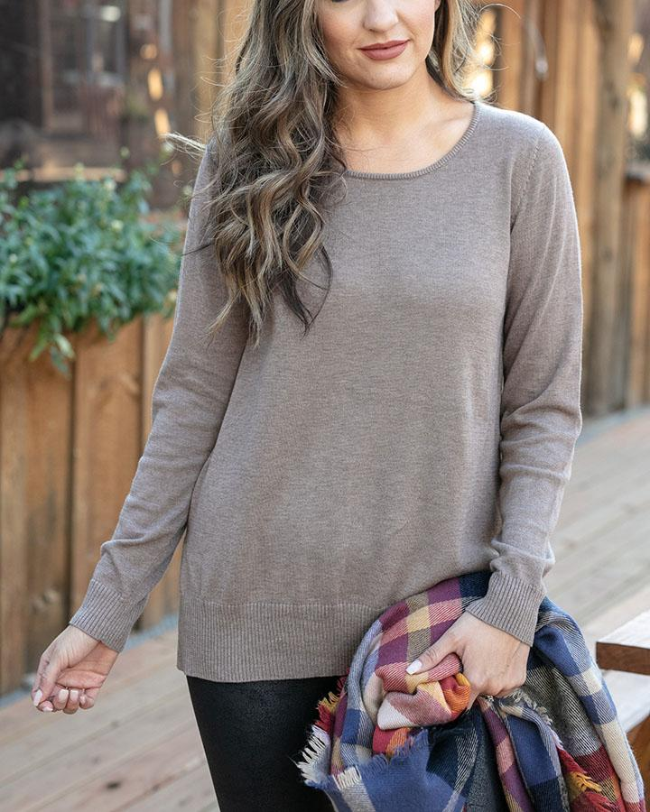 Grace & Lace | Everyday Sweater | Barley