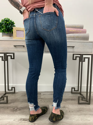 KanCan Jeans | Mid Wash Distressed | Wes