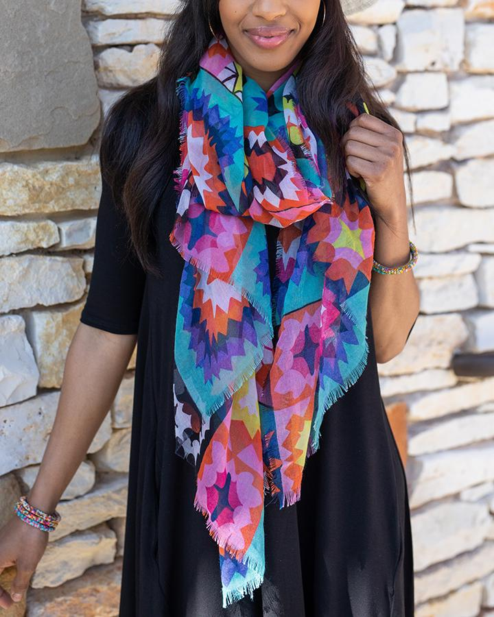 *NEW* Grace & Lace | Happy Days Spring Scarf | Kaleidoscope