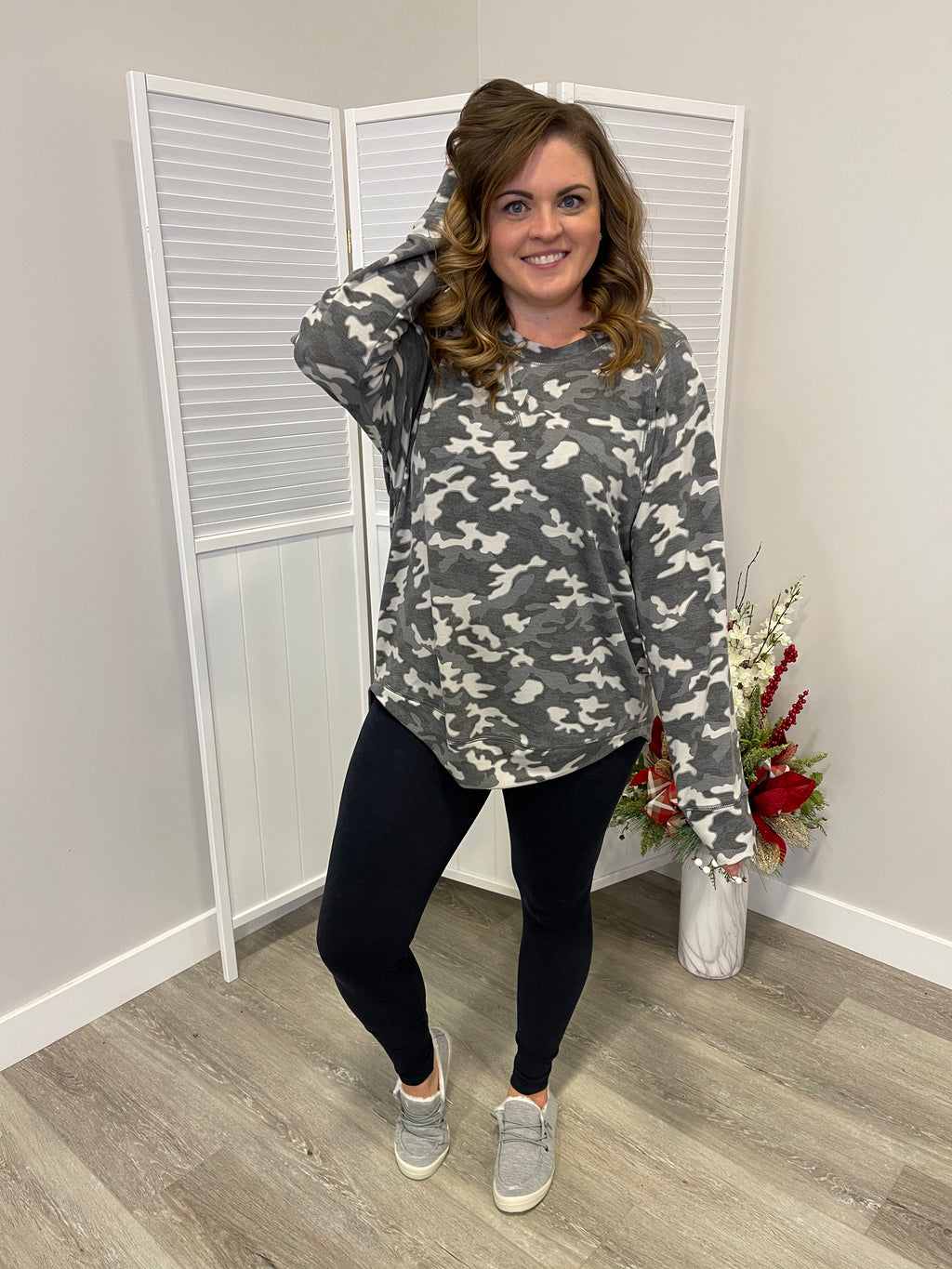 *NEW* Melissa LONG Sleeve Sweatshirt | Charming Camo