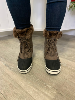 *FINAL SALE* Kimora Snow Boots | Mocha