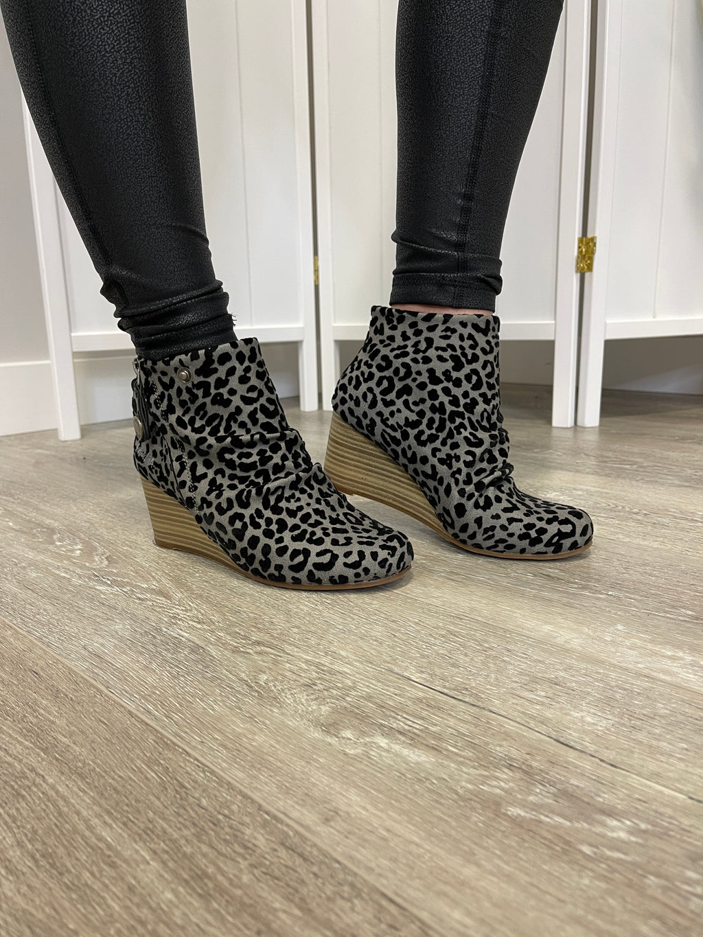 Blowfish BERKELEY |Wedge| Grey Leopard Prospector
