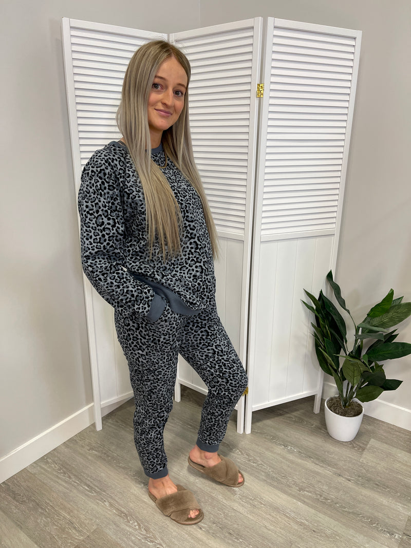 *NEW* Jada Matching Leopard Set | 2 Piece | Grey