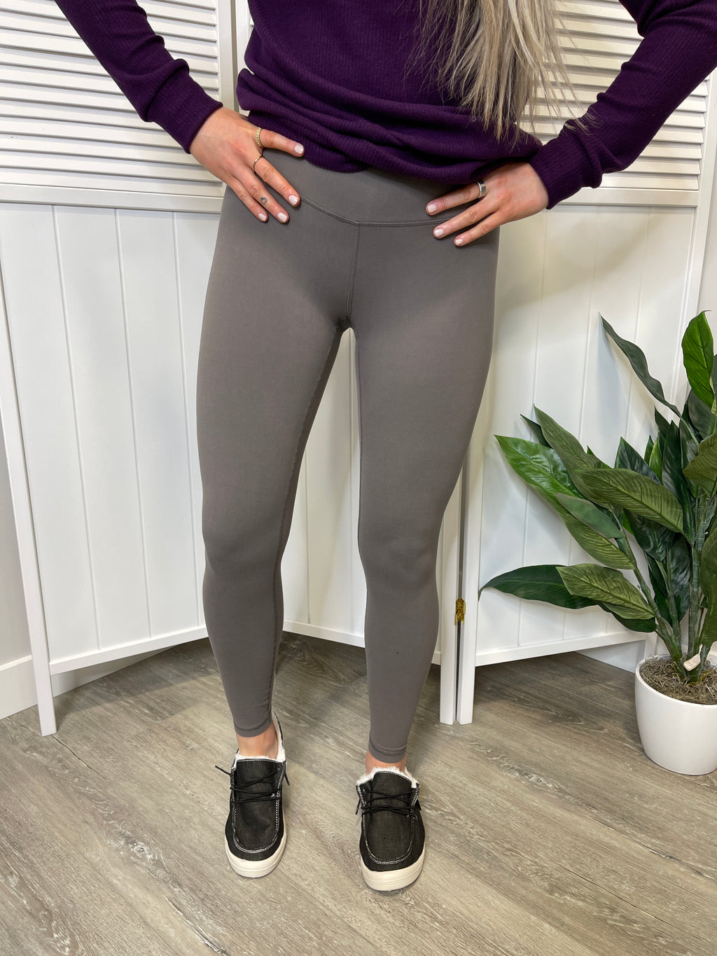 Simplicity Leggings | Smoke Grey