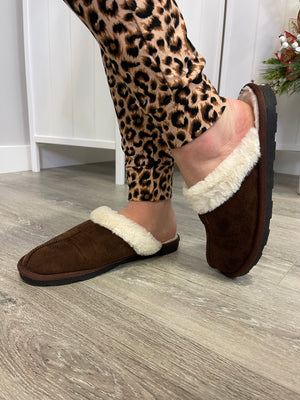 *FINAL SALE* Kananaskis Slippers | Brown