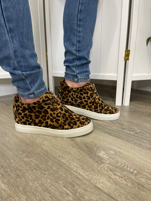 *FINAL SALE* Hayden Sneaker Wedges | Leopard