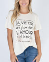 Grace & Lace | Perfect Crew Neck Tee | French Cream