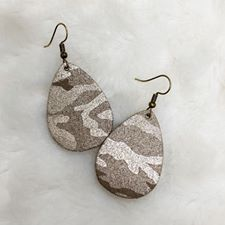 Itty Bitties - Light Brown Camo Shimmer - Small - 259