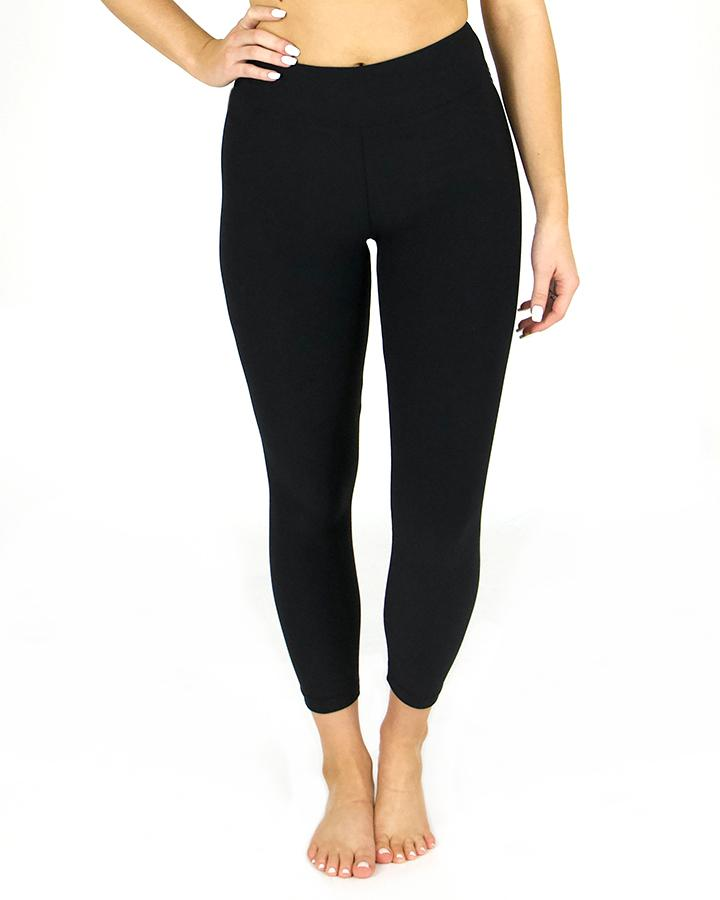 Grace & Lace Live-in Leggings | CROPPED | Black