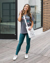Grace & Lace | Classic Fit Graphic Tee | LOVE | Slate