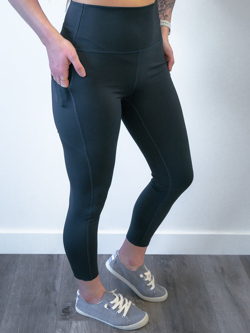 Balance Pocket Leggings | Black