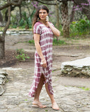 Perfect Pocket Tee Maxi Dress - Washed Plum