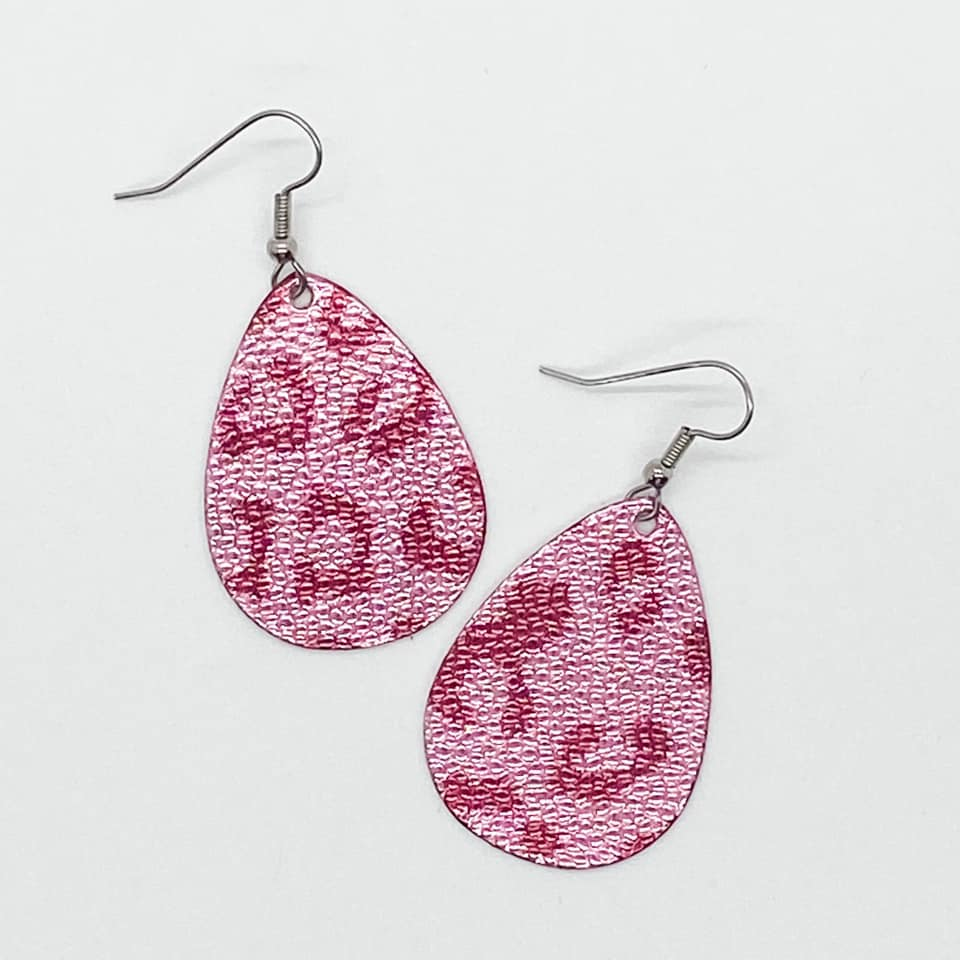 Itty Bitties - Metallic Pink Leopard - Small - 203