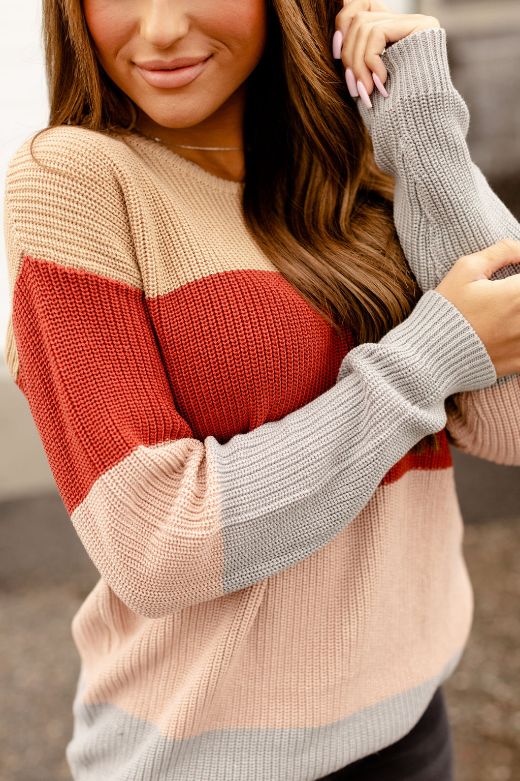 Ampersand The Paige Sweater | Blush