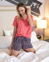 Grace & Lace | PJ Shorts | Fan Floral