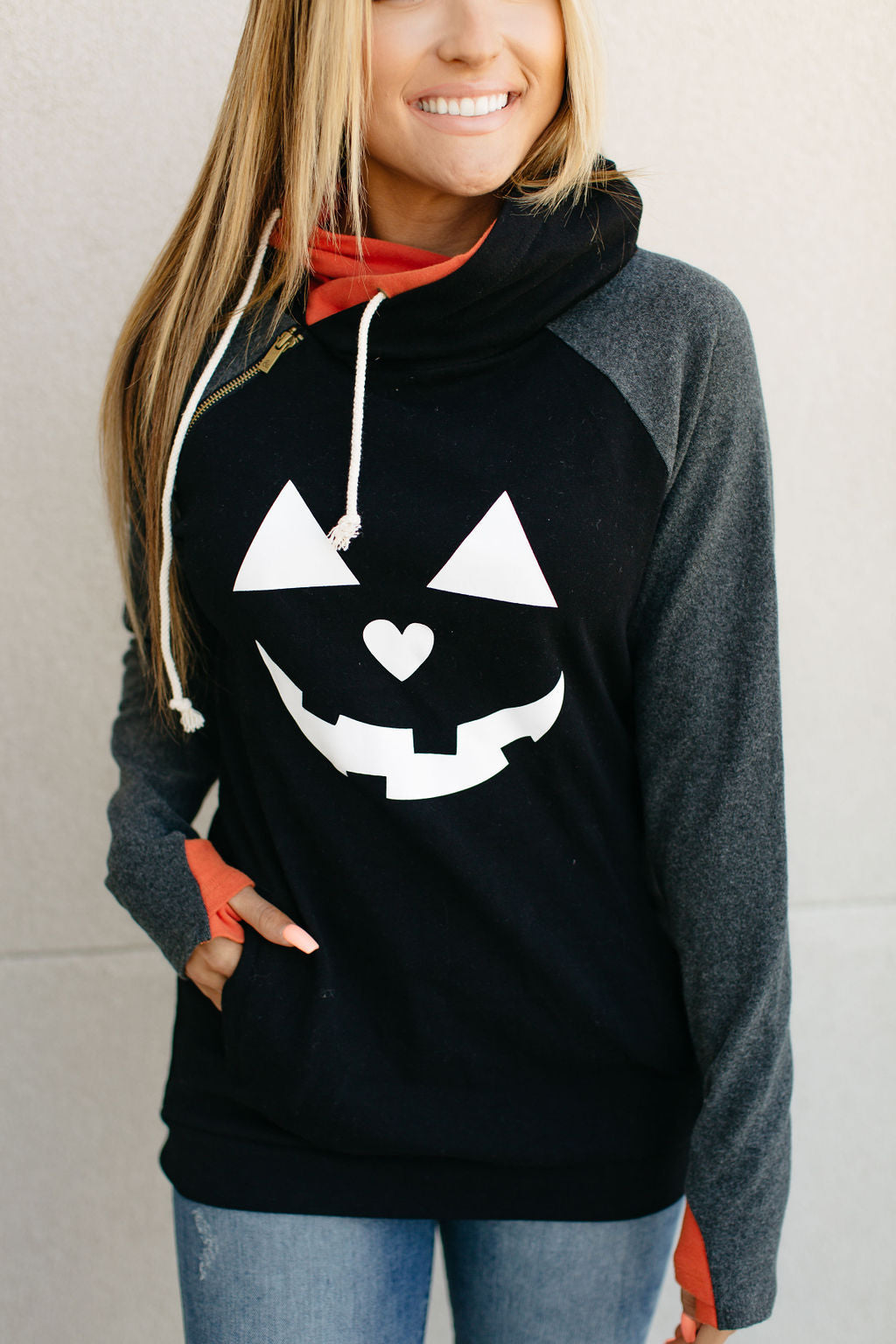 Doublehood Sweatshirt in Pumpkin Spice
