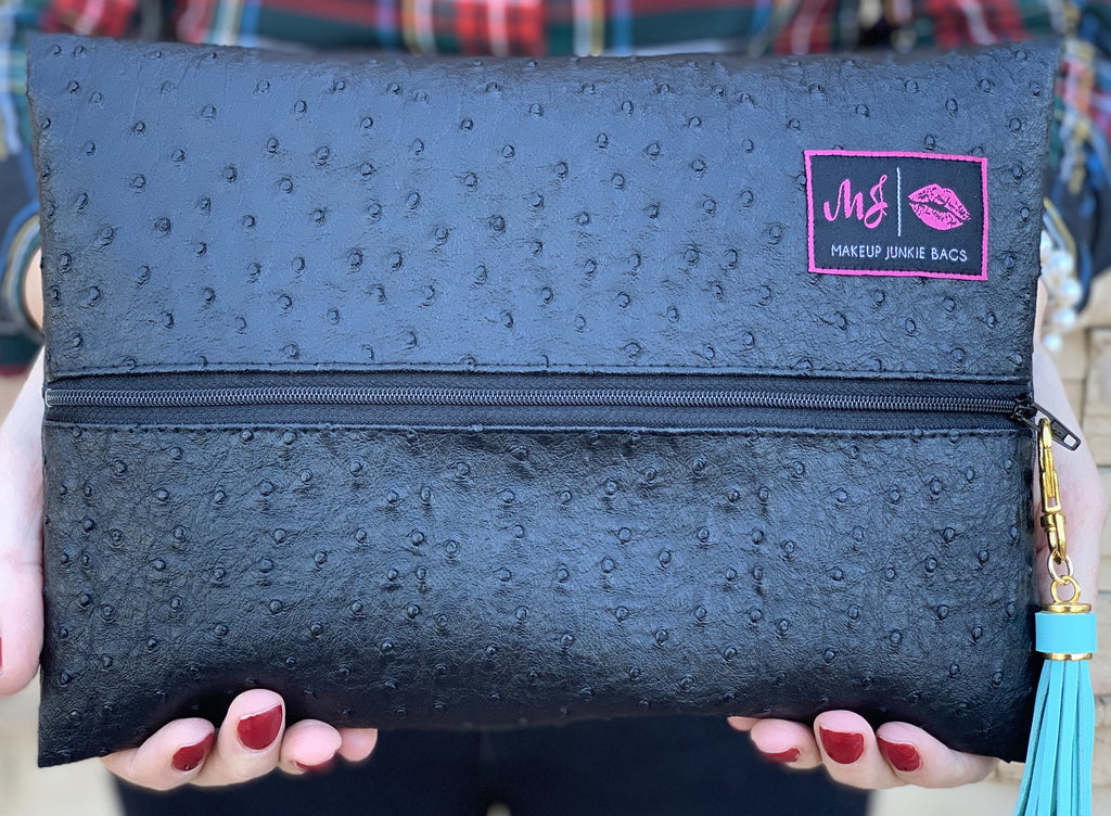 Makeup Junkie Bag - Quil Onyx