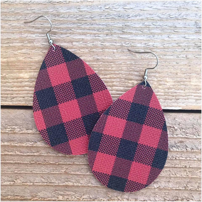 Red Plaid - Large - 108