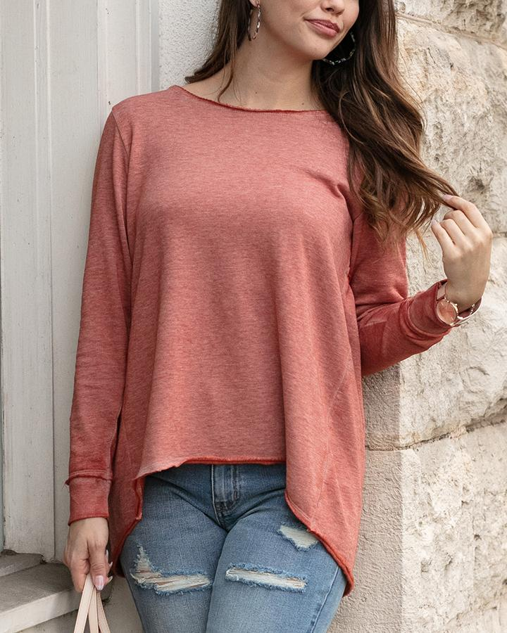 PREORDER Grace & Lace Saturday Sweater - Texas Sunset
