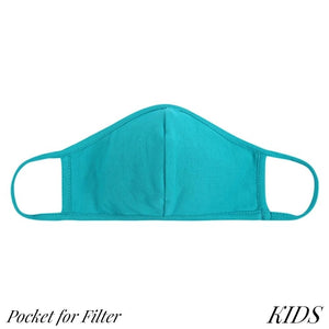 KIDS Solid Colour Mask