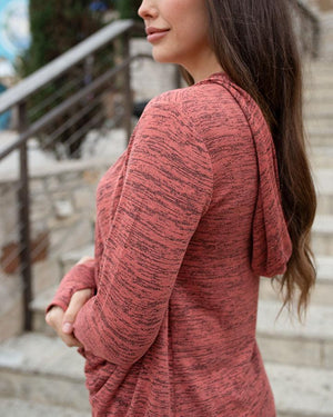 Grace & Lace Spring Day Pullover | Copper Rose