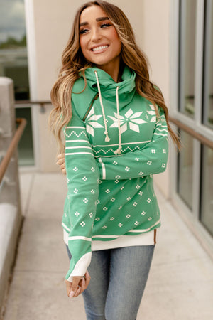 *FINAL SALE* Ampersand Doublehood Sweatshirt | Tis The Season