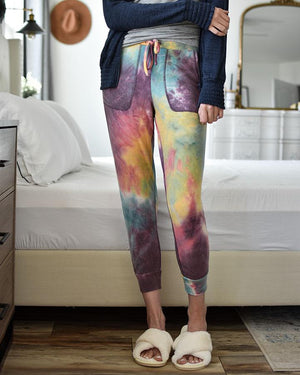 Grace & Lace | The Weekend Joggers | Tie Dye