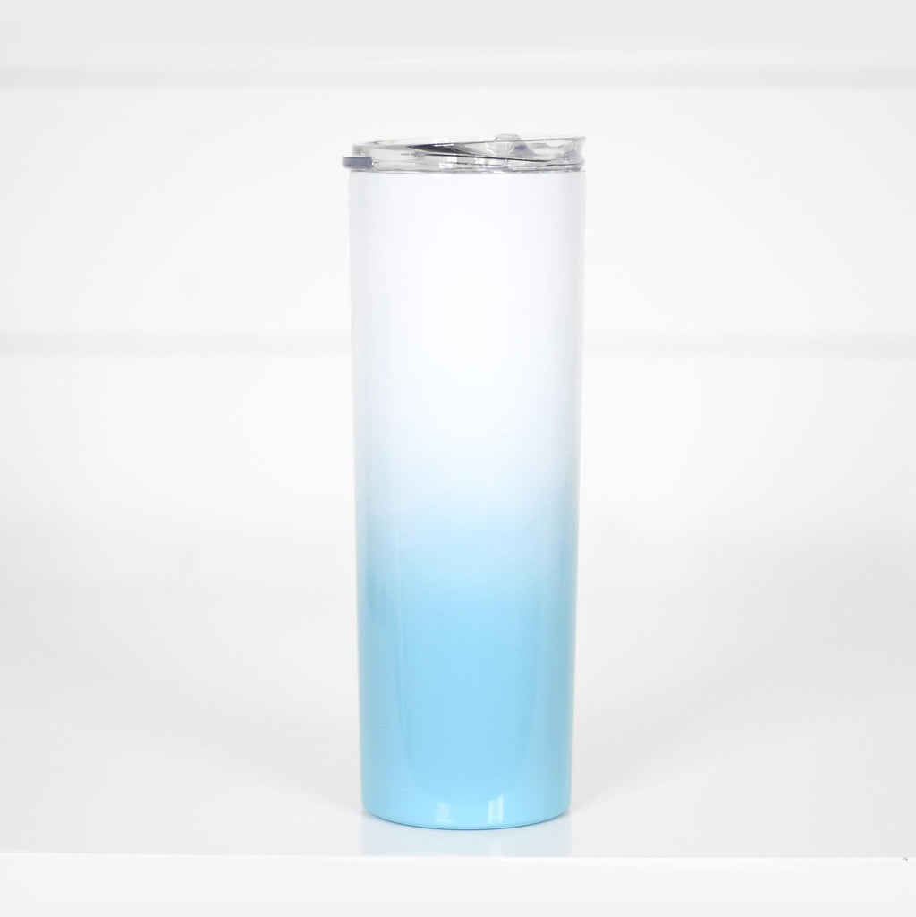 BLUE Ombre | Tall Travel Cup