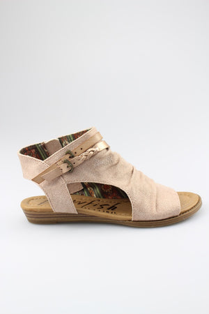 Blowfish BLUMOON | Sandal | Rose Gold Rancher Blush