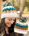 Grace & Lace Reversible Pom Hat | Snowcap