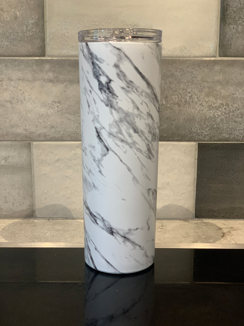 Marble | Tall Travel Cup