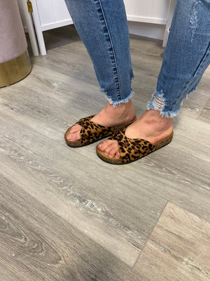 Berk Sandals | TWIST | Leopard
