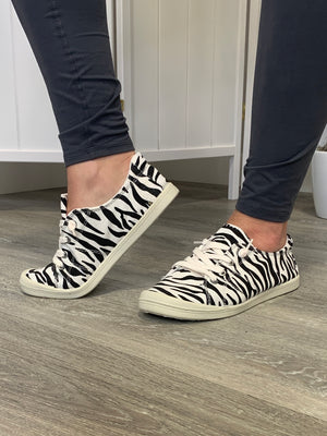 Sutton Sneakers | Zebra