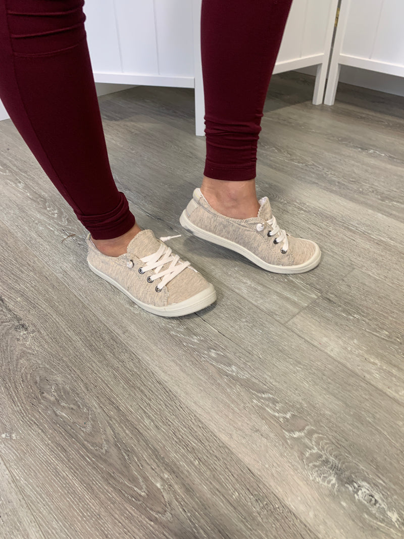 Sutton Sneakers | Beige