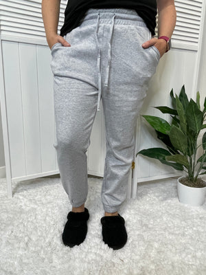 Shana Joggers | Heather Grey